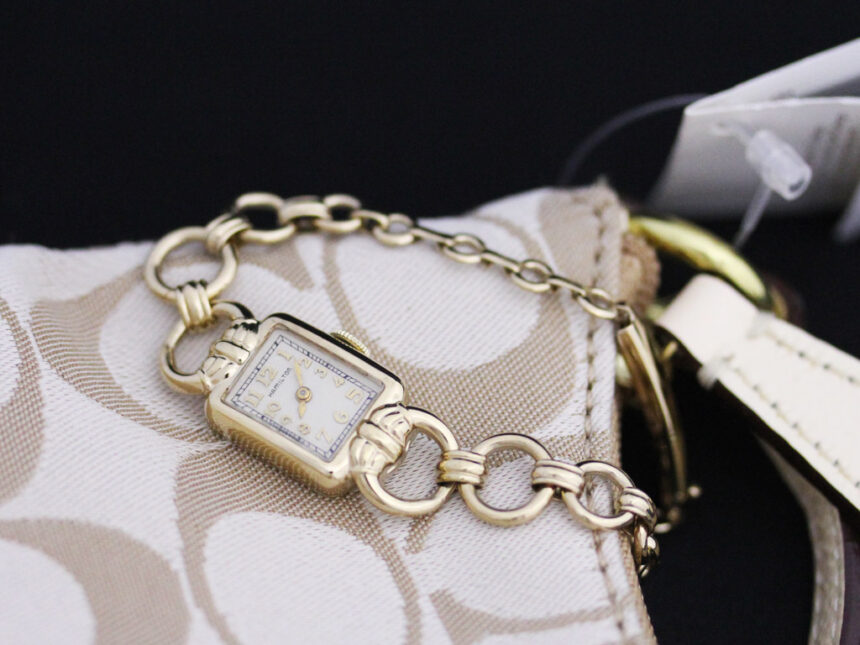 ハミルトンのアンティーク腕時計-W1370-1