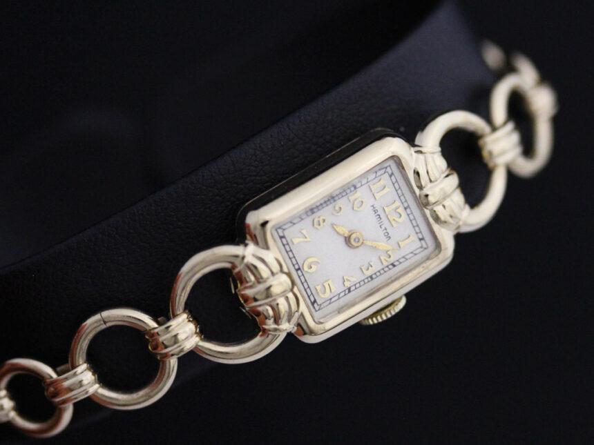 ハミルトンのアンティーク腕時計-W1370-10