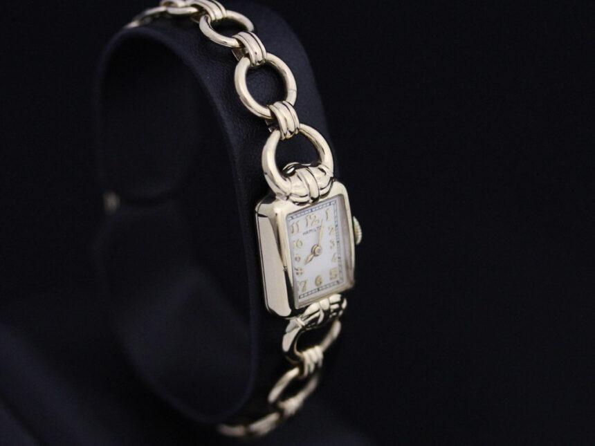 ハミルトンのアンティーク腕時計-W1370-11