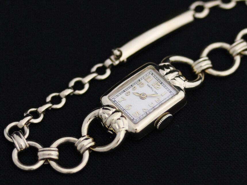 ハミルトンのアンティーク腕時計-W1370-14