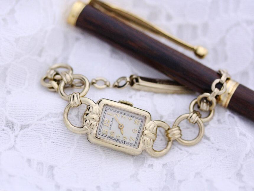 ハミルトンのアンティーク腕時計-W1370-3
