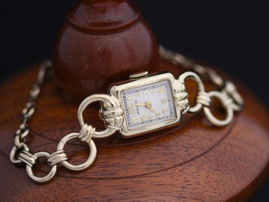ハミルトンのアンティーク腕時計-W1370-6