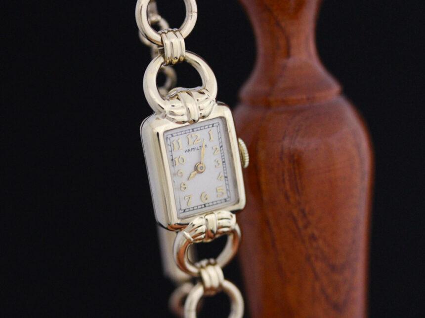 ハミルトンのアンティーク腕時計-W1370-7
