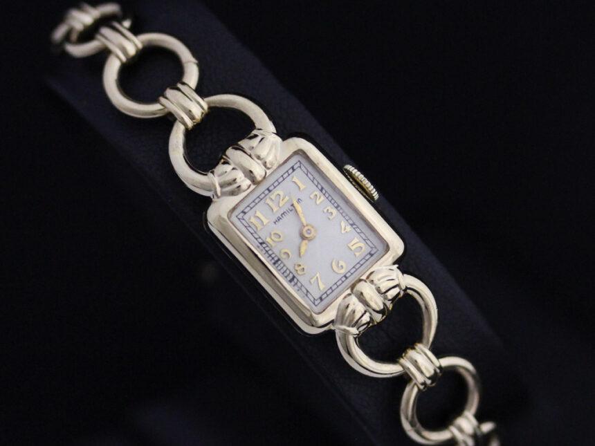ハミルトンのアンティーク腕時計-W1370-9
