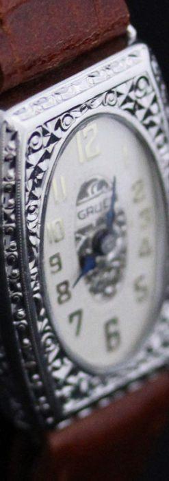 グリュエンのアンティーク腕時計-W1373-1