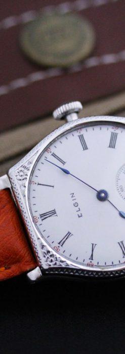 エルジンのアンティーク腕時計-W1377-2