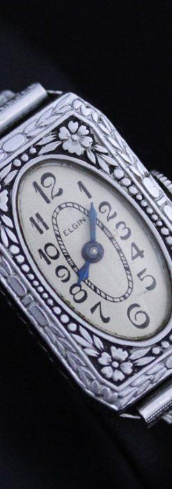 エルジンのアンティーク腕時計-W1379-10