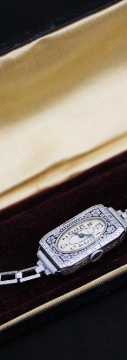 エルジンのアンティーク腕時計-W1379-14