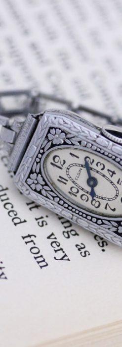 エルジンのアンティーク腕時計-W1379-3
