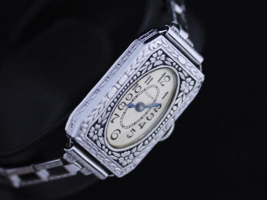 エルジンのアンティーク腕時計-W1379-4