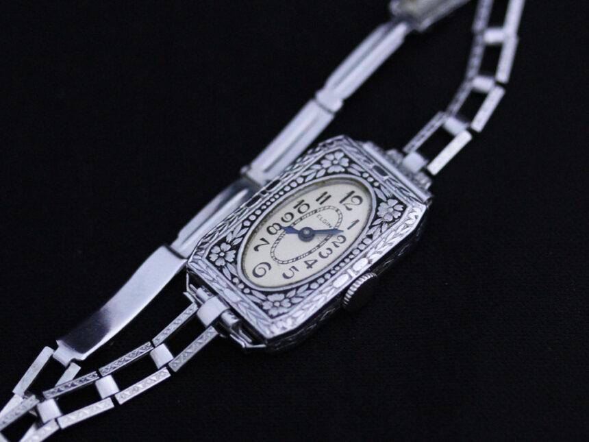 エルジンのアンティーク腕時計-W1379-6