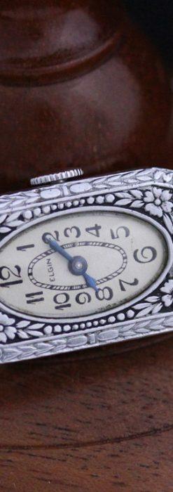 エルジンのアンティーク腕時計-W1379-8