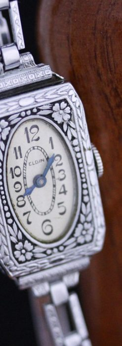エルジンのアンティーク腕時計-W1379-9