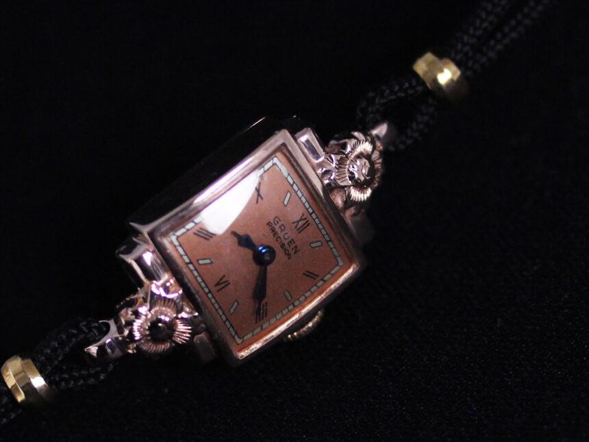 グリュエンのアンティーク腕時計-W1380-3