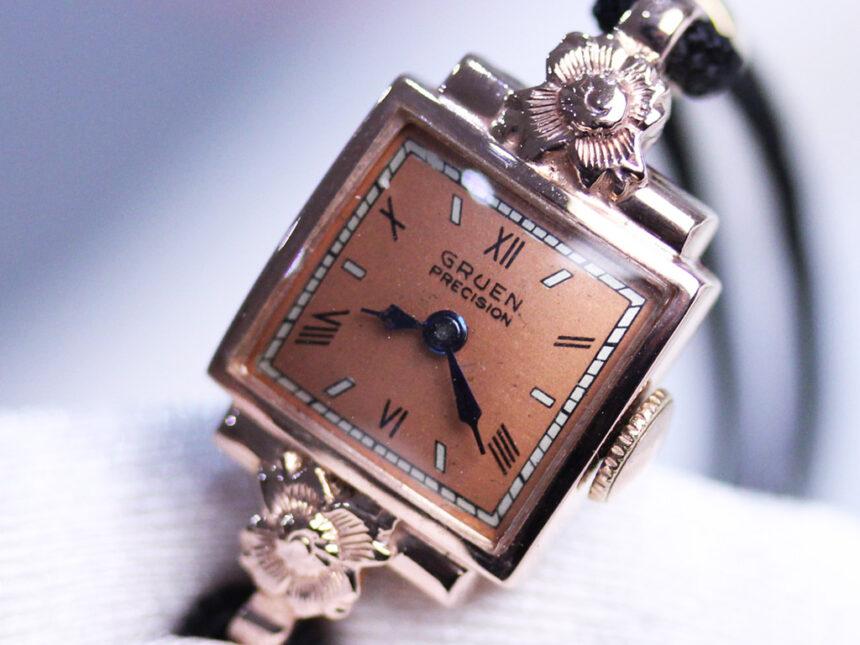 グリュエンのアンティーク腕時計-W1380-4