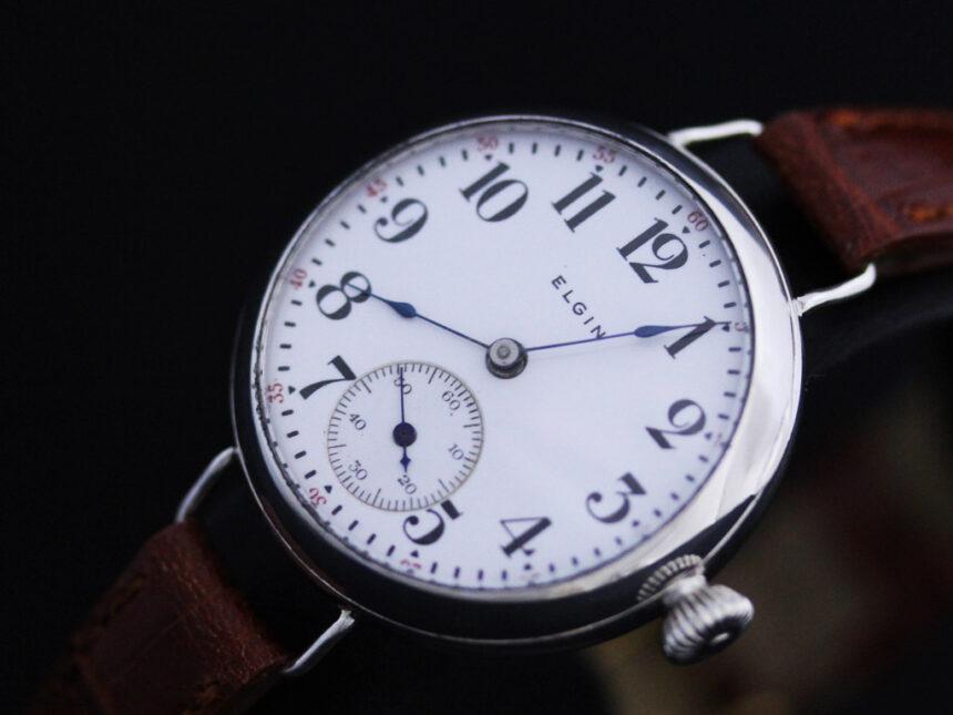 エルジンのアンティーク腕時計-W1383-11