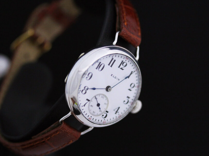 エルジンのアンティーク腕時計-W1383-16
