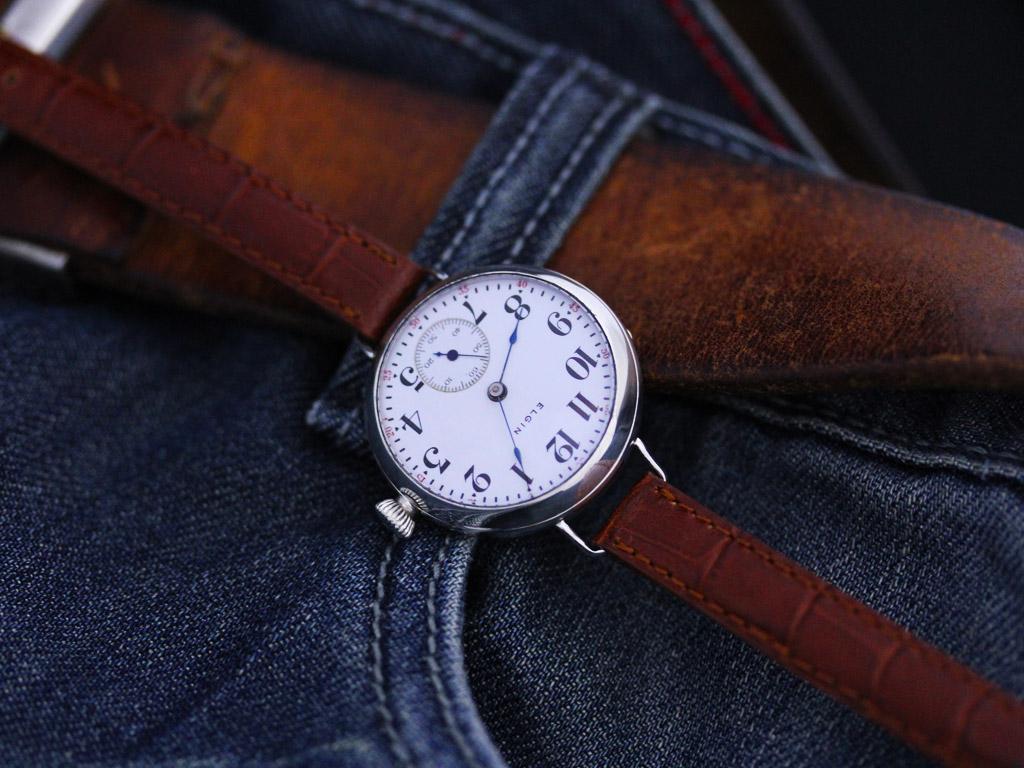 エルジンのアンティーク腕時計-W1383-2