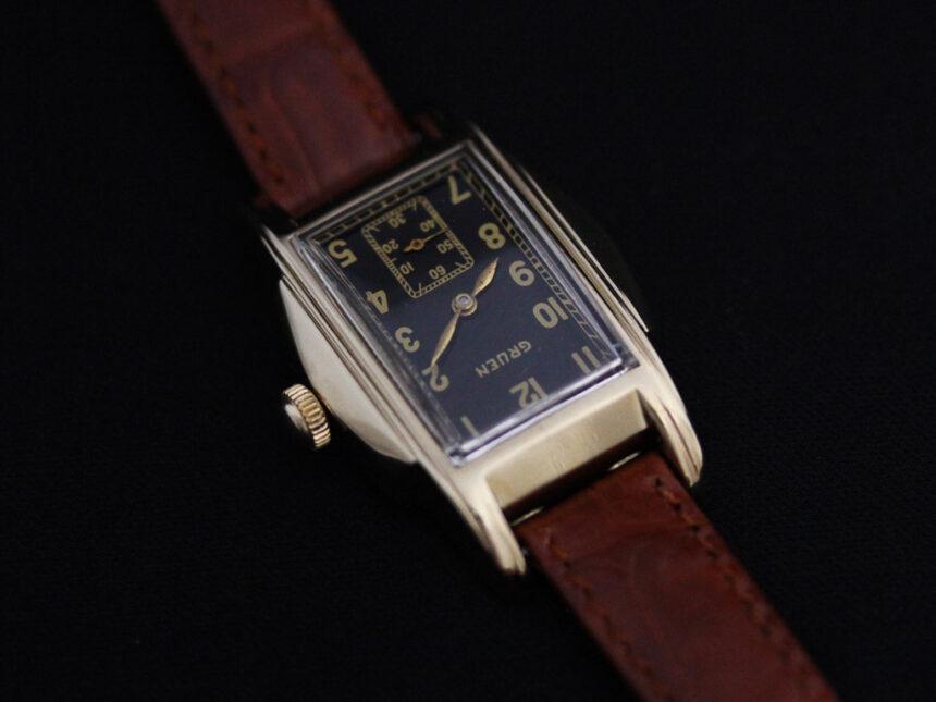 グリュエンのアンティーク腕時計-W1385-10