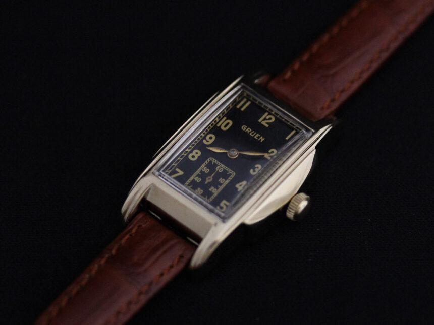 グリュエンのアンティーク腕時計-W1385-11