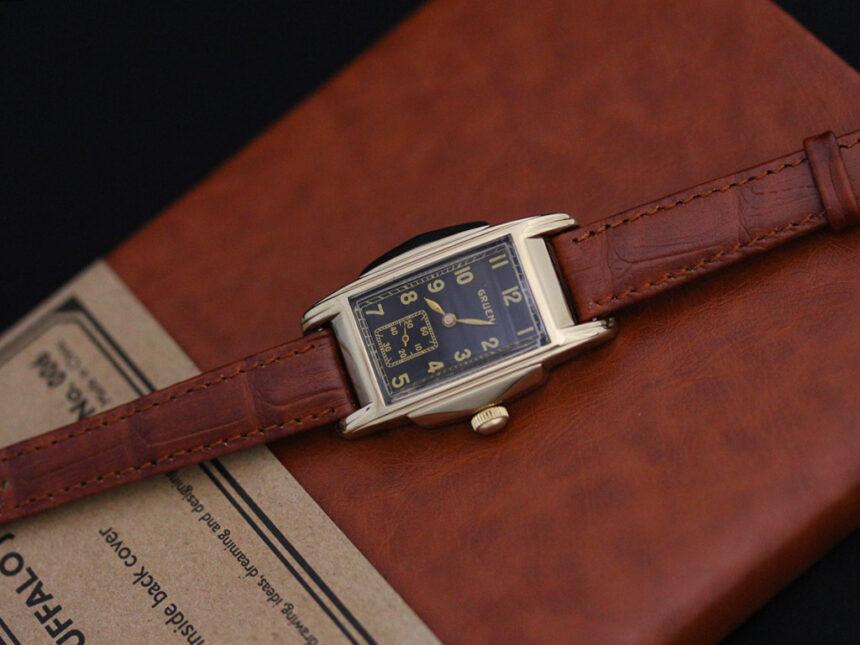 グリュエンのアンティーク腕時計-W1385-12