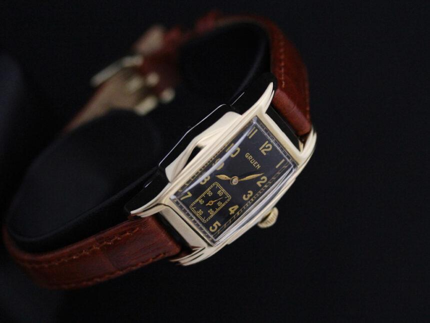 グリュエンのアンティーク腕時計-W1385-13