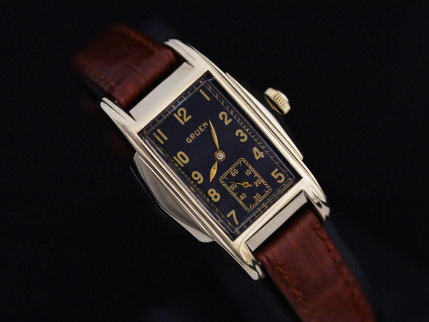 グリュエンのアンティーク腕時計-W1385-14