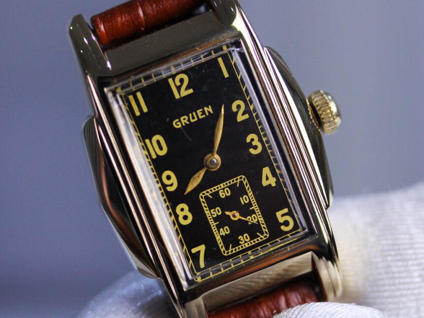 グリュエンのアンティーク腕時計-W1385-17