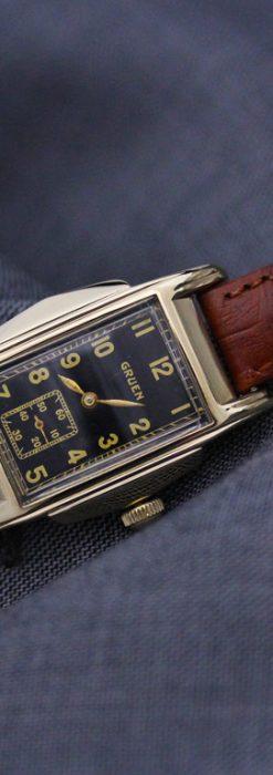 グリュエンのアンティーク腕時計-W1385-2
