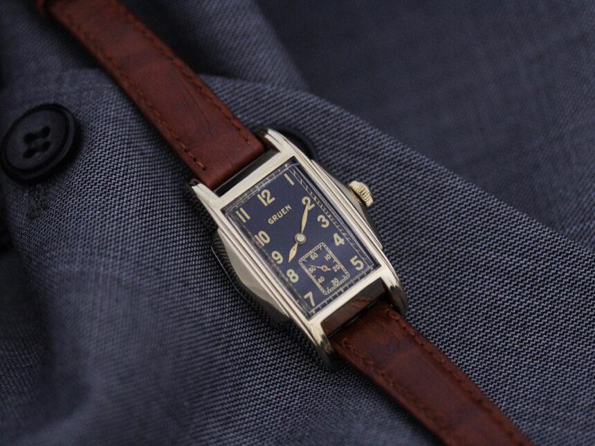 グリュエンのアンティーク腕時計-W1385-3