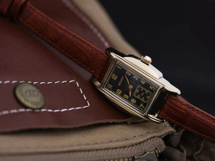 グリュエンのアンティーク腕時計-W1385-4