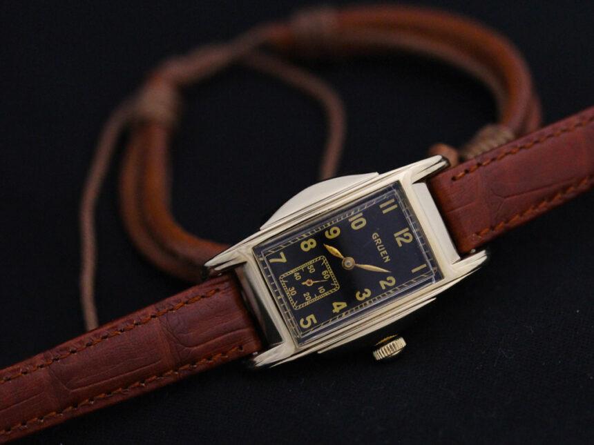 グリュエンのアンティーク腕時計-W1385-5
