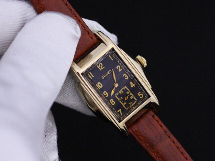 グリュエンのアンティーク腕時計-W1385-6