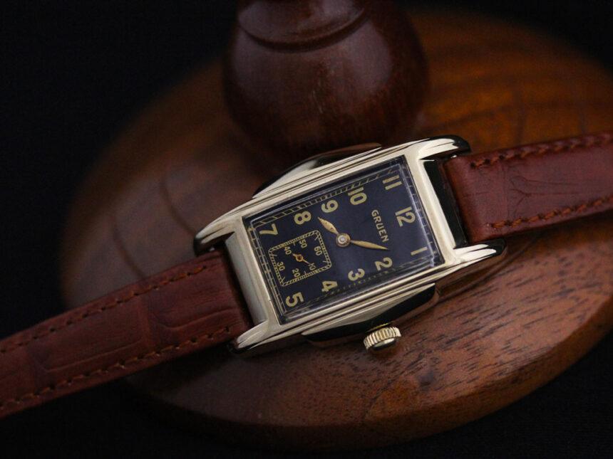 グリュエンのアンティーク腕時計-W1385-7