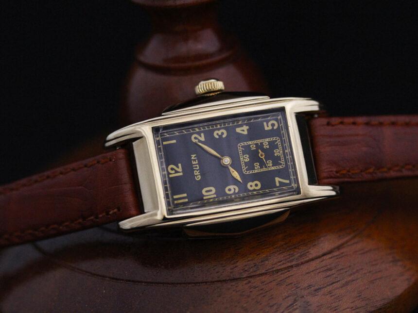 グリュエンのアンティーク腕時計-W1385-8