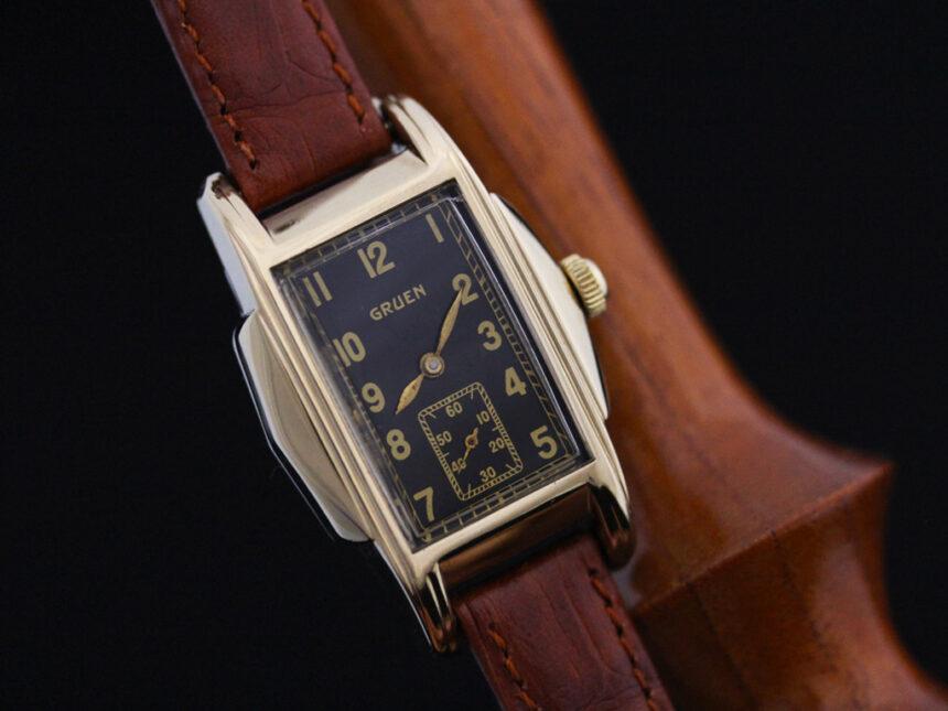グリュエンのアンティーク腕時計-W1385-9
