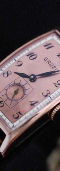 グリュエンのアンティーク腕時計-W1386-1