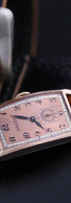 グリュエンのアンティーク腕時計-W1386-2