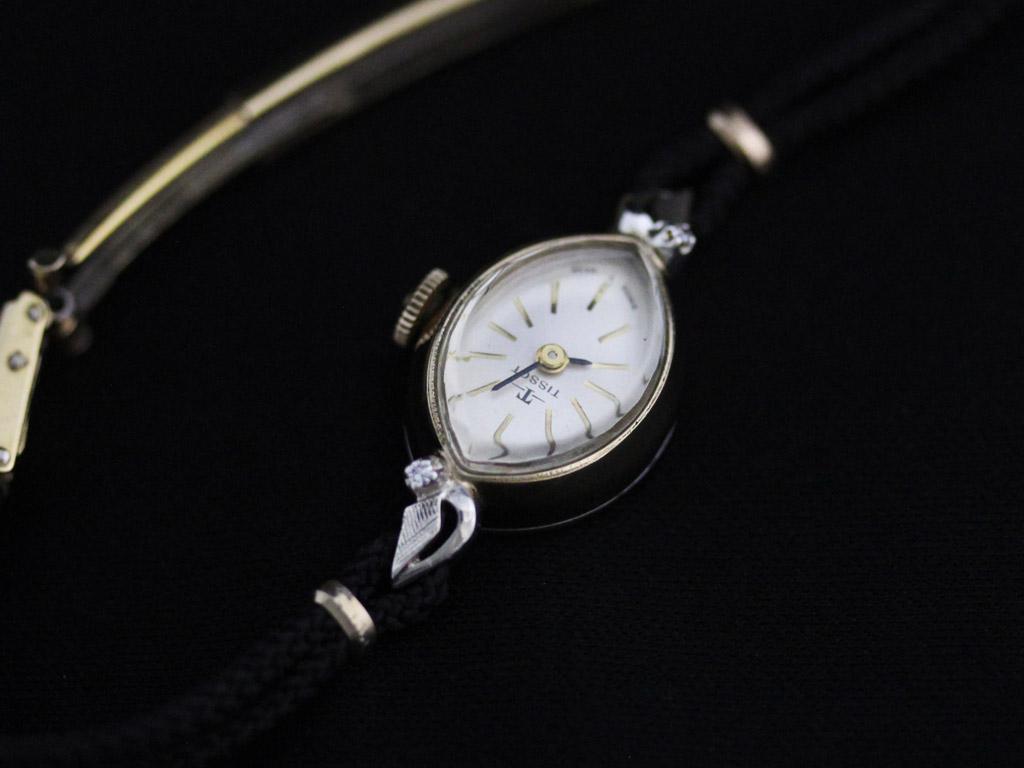 ティソのアンティーク腕時計-W1388-9