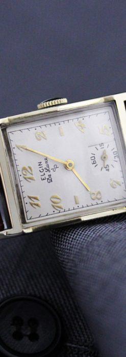 エルジンのアンティーク腕時計-W1389-1