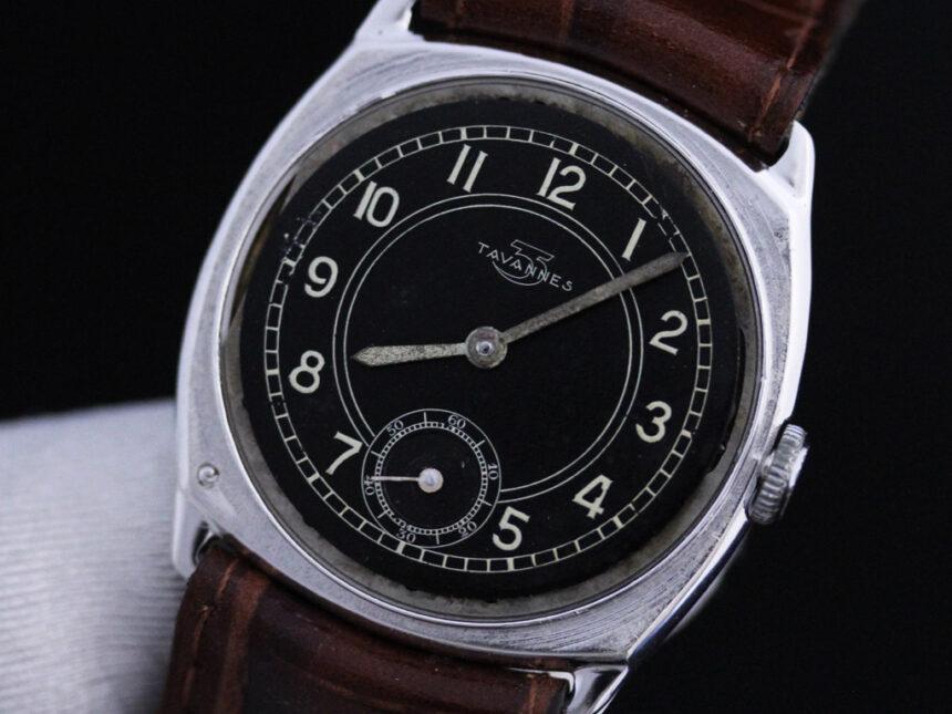 タバンのアンティーク腕時計-W1390-18