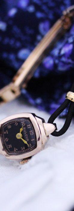 ブローバのアンティーク腕時計-W1391-2