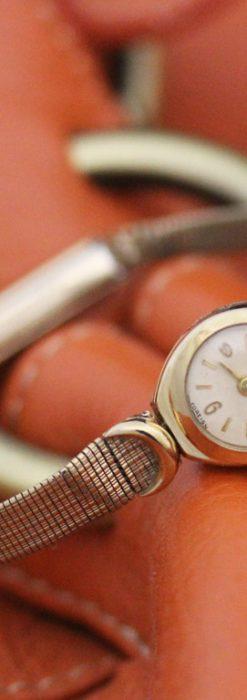 エルメスの女性用アンティーク腕時計-W1395-1