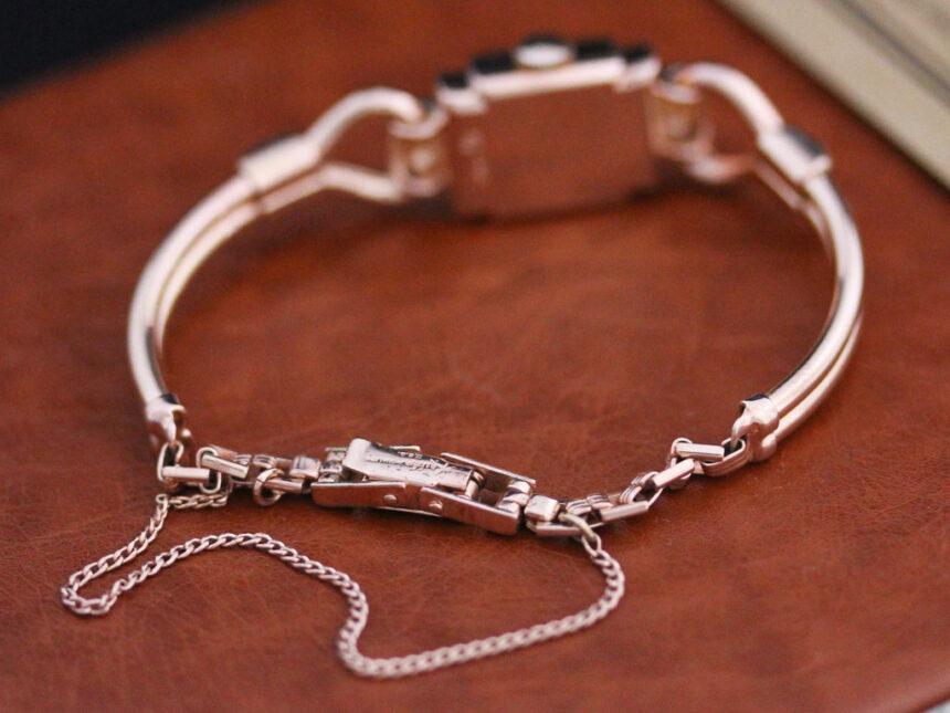 グリュエンの女性用アンティーク腕時計-W1396-10