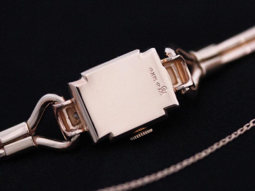 グリュエンの女性用アンティーク腕時計-W1396-15