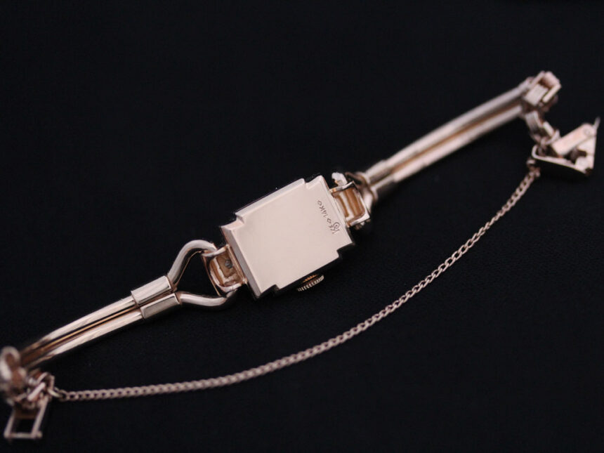 グリュエンの女性用アンティーク腕時計-W1396-16