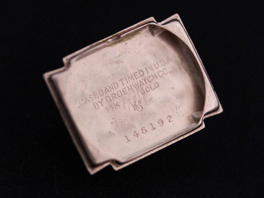 グリュエンの女性用アンティーク腕時計-W1396-17