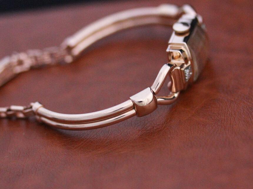 グリュエンの女性用アンティーク腕時計-W1396-9