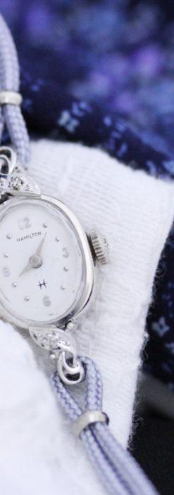 ハミルトンの女性用アンティーク腕時計-W1397-1
