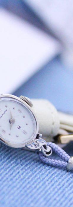 ハミルトンの女性用アンティーク腕時計-W1397-2
